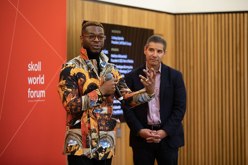 Walé Oyéjidé, Epiphanies in Proximity: Personal Stories Of Turning Points - skollwf 2018
