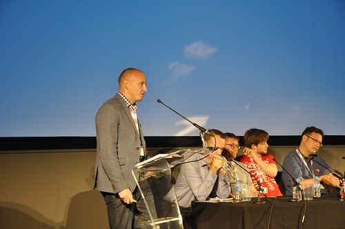 CMC 2016 - VR 101: Making Virtual a Reality - Introduced by Marc Goodchild, with Changemaker Chloe Meineck, Dr Dave Raynard, Peter Robinson, Dan Tucker, Juliet Tzabar & Ed Barton - Photo: jenbooth2014@gmail.com
