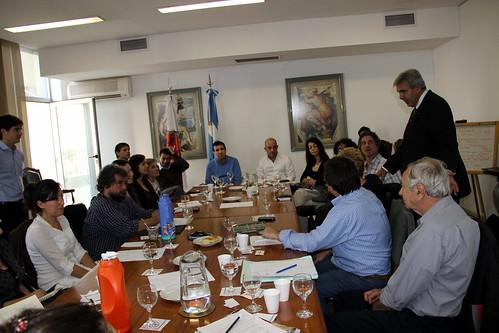 Reunión en la Defensoría del Pueblo por reserva natural Laguna de Rocha