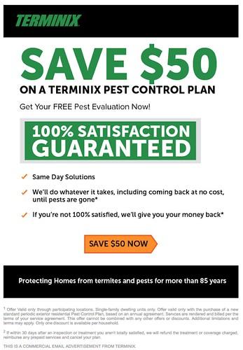 Terminix – Pest Control Estimate