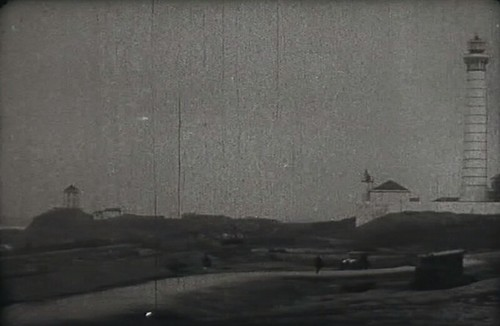 Farol e farolim da Boa Nova entre 1927 e 1950, ano da demolição do farolim