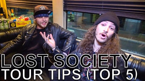 Lost Society - TOUR TIPS (Top 5) Ep. 639