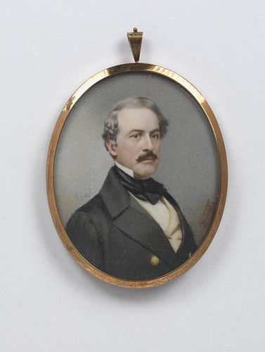 Portrait Miniature of Robert E. Lee
