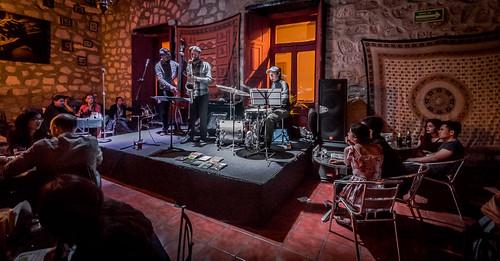 In Performance at Amati Jazz Club - Natalio Sued Jazz Trio