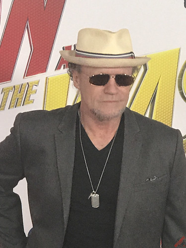 Michael Rooker at Marvel's