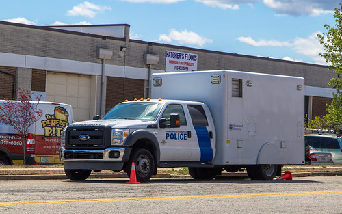 Ford F550 mobile x-ray unit