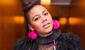 SOUTH AFRICA : Sho Madjozi records a song with Chris Martin