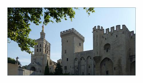 Papstpalast, Avignon, F