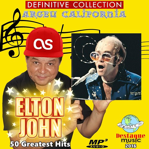 Elton John - 2016 - Definitive Collection Argeu California - 3000x3000