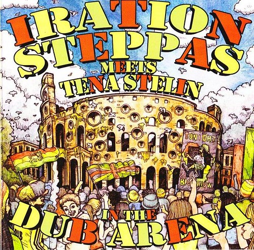 Iration Steppas Meets Tena Stelin - In The Dub Arena (2014)