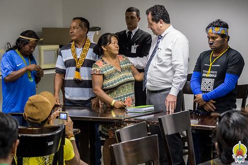 Reunião com etnias Krahô, Krikati, Canela, Guajajara, Gavião, Kaapor © Mário Vilela » FUNAI-7