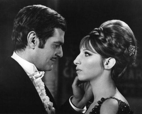 Barbra Streisand and Omar Sharif in Funny Girl (1968)