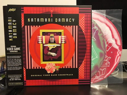 Katamari Damacy - Original Video Game Soundtrack - 2xLP: Green & Purple Swirl / Red & White Swirl