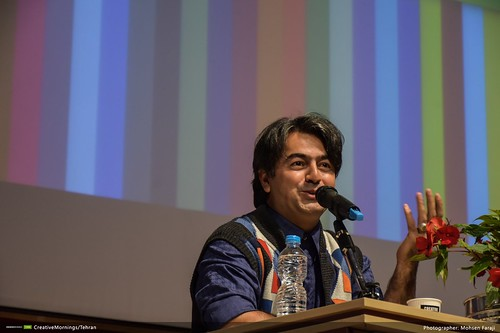سخنرانی پرواز همای در جشن یکسالگی صبح خلاق تهران