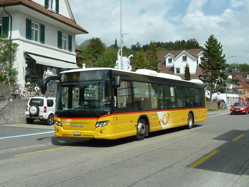 Carpostal - Scania Citywide à Schöftland (AG)