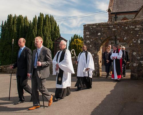 Bishop of Clogher dedicates new 'Grosvenor Wing' for Devenish Parish.
