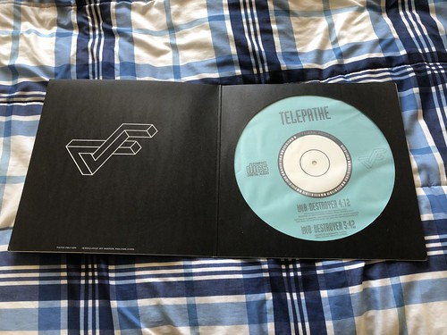 Telepathe - Destroyer 12'' picture disc single